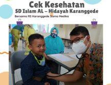 Cek Kesehatan di SD Al Hidayah Karanggede