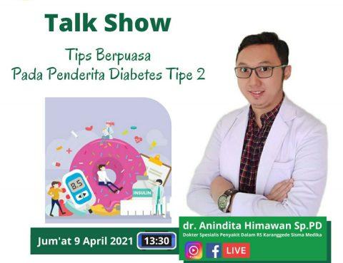 Talkshow Online Tips Berpuasa