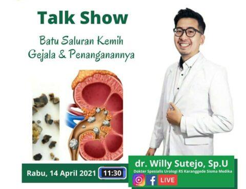 Talkshow Batu Saluran Kemih