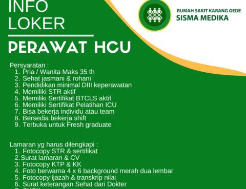 Lowongan Kerja Perawat HCU