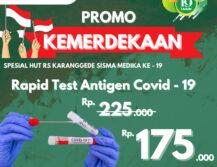 Promo Kemerdekaan Rapid Antigen