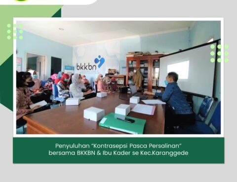 Penyuluhan Bersama BKKBN & Ibu Kader Kecamatan Karanggede